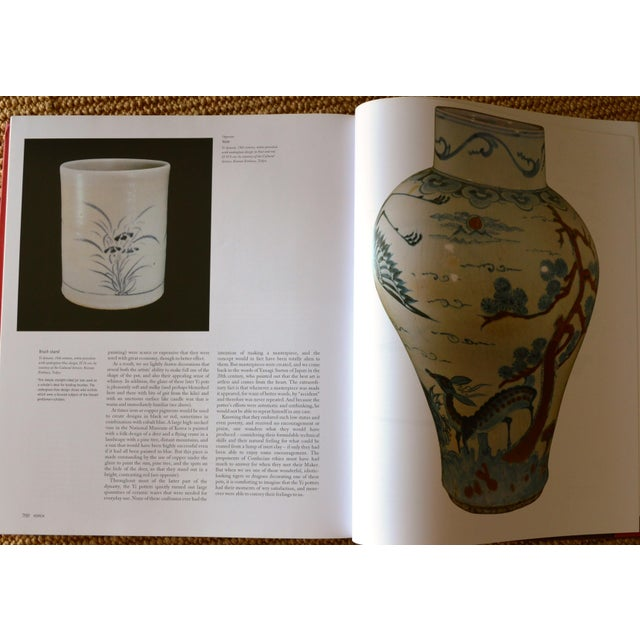 """""""The Art of East Asia"""" Hardcover Dust Jacket Book Koenemann Coffee Table Book Red Black For Sale - Image 9 of 11"""