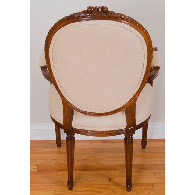 Cesar Seda Italian Hand-Crafted Dining Chairs - Set of 8 - Image 5 of 7