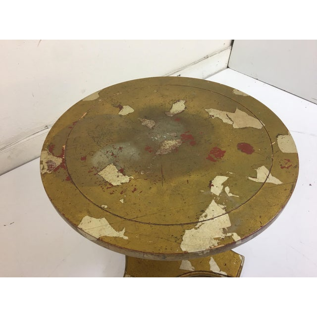 James Mont James Mont Round Side Table For Sale - Image 4 of 6