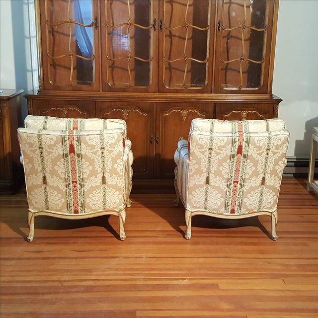 19th Century French Prov. Club Chairs - a Pair - Image 5 of 11