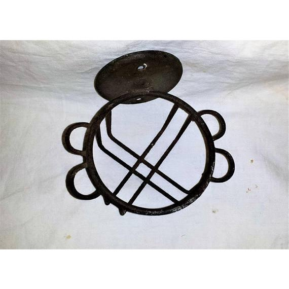 Antique Metal Wire Cup Holder - Image 3 of 5