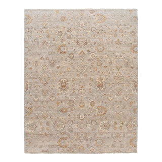 21st Century Contemporary Indian Wool Rug For Sale