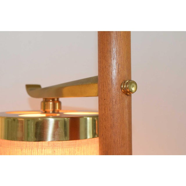 Stiffel MId-Century Pole Floor Lamp - Image 5 of 7