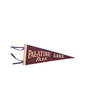 Palatine Lake Park Nj Felt Flag For Sale