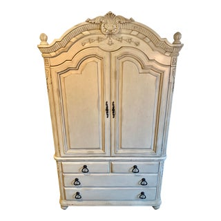 Laura Ashley for Kincaid French Provincial Style Wardrobe/Armoire For Sale