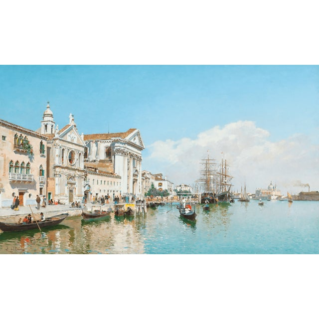 Late 19th Century La Chiesa Gesuati by Federico Del Campo For Sale - Image 5 of 5
