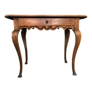 18th Century Antique Louis XV French Walnut Table