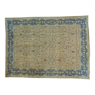 "Antique Persian Tabriz Oriental Rug - 10'4"" X 14'0"" For Sale"