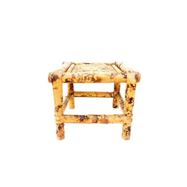 Vintage Tortoise Bamboo Plant Stand For Sale - Image 11 of 11