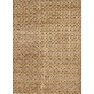 Lee Jofa Shoridge Gold Cut Velvet - 2.5 Yards For Sale