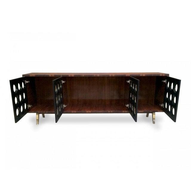 Sylvan S.F. Marsailles Ebony 4-Door Credenza For Sale - Image 4 of 7