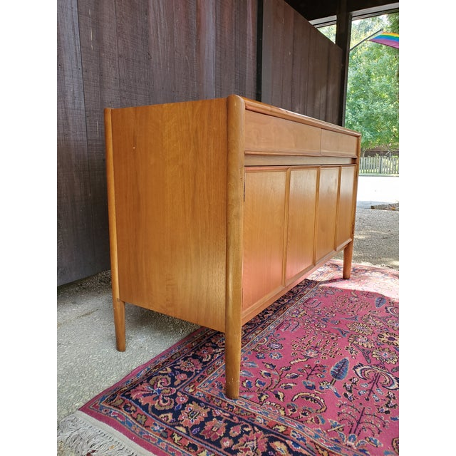 Mid 20th Century Drexel Mid-Century Modern Parallel Credenza For Sale - Image 5 of 13