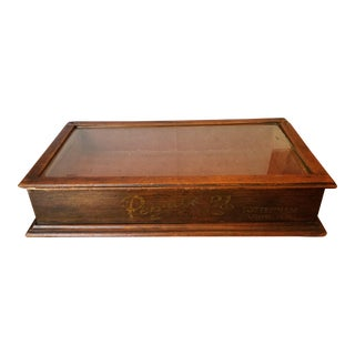 Old Shop Jewellery Display Case For Sale
