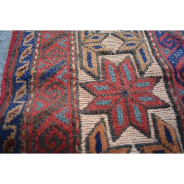 Afghan Tribal Afghan Burjesta Kilim Rug - 4′4″ × 6′1″ For Sale - Image 3 of 5