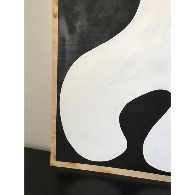 Hannah Polskin Abstract Butterfly Monochrome Diptych - 2 Pieces For Sale In Los Angeles - Image 6 of 10
