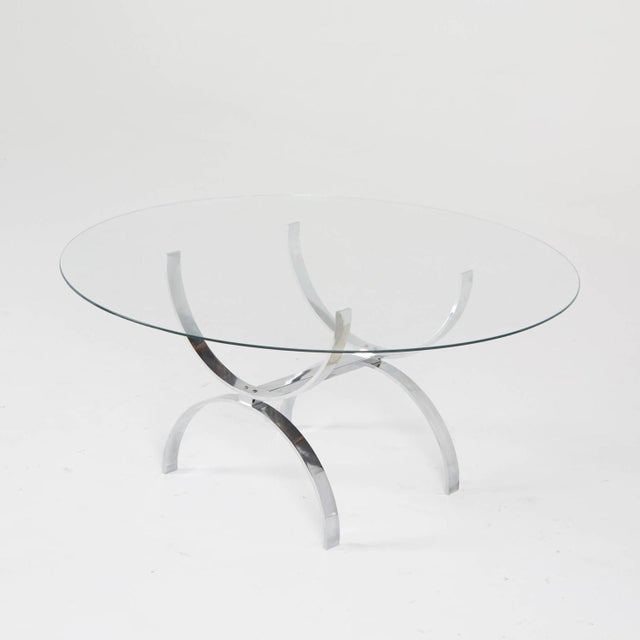 Pace Style Glass and Chrome Coffee Table - Image 2 of 7
