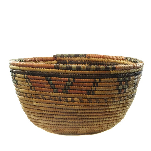 Natural African Woven Basket - Image 1 of 3