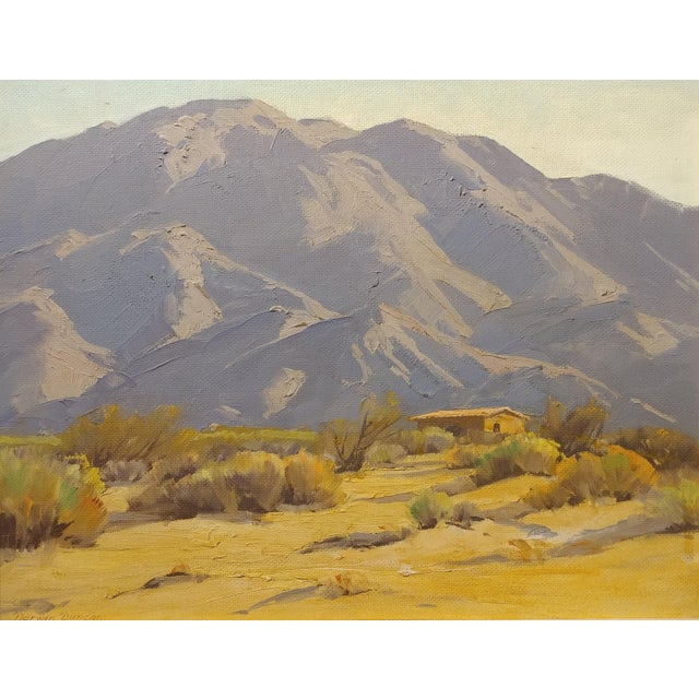 Darving Duncan - Beautiful California Desert Landscape-Impressionsit -oil Painting - Image 3 of 10