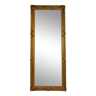 Vintage French Hand Carved Gilded Mirror/ Painting Frame For Sale