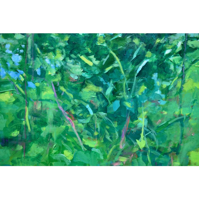 "Stephen Remick ""A Midsummer Day's Dream"" Large (32"" X 80"") Contemporary Painting by Stephen Remick For Sale - Image 4 of 11"