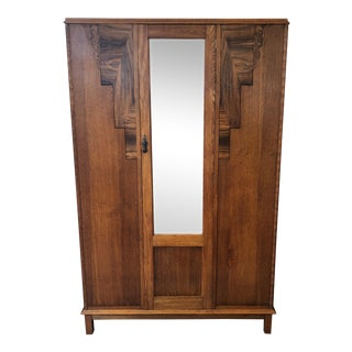 Antique English Oak Armoire