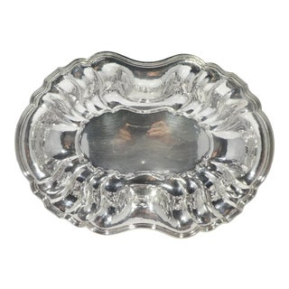 Large Buccellati Sterling Silver Serving Bowl For Sale