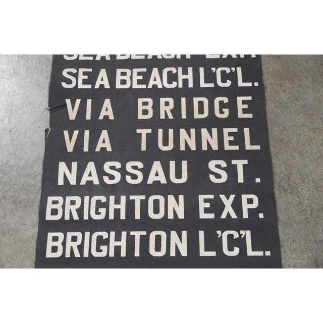 Vintage New York City Subway Scroll - Image 4 of 7