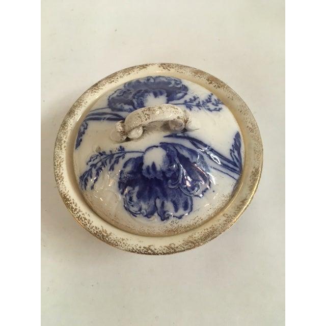 Blue Ironstone Soap Dish - Image 3 of 7