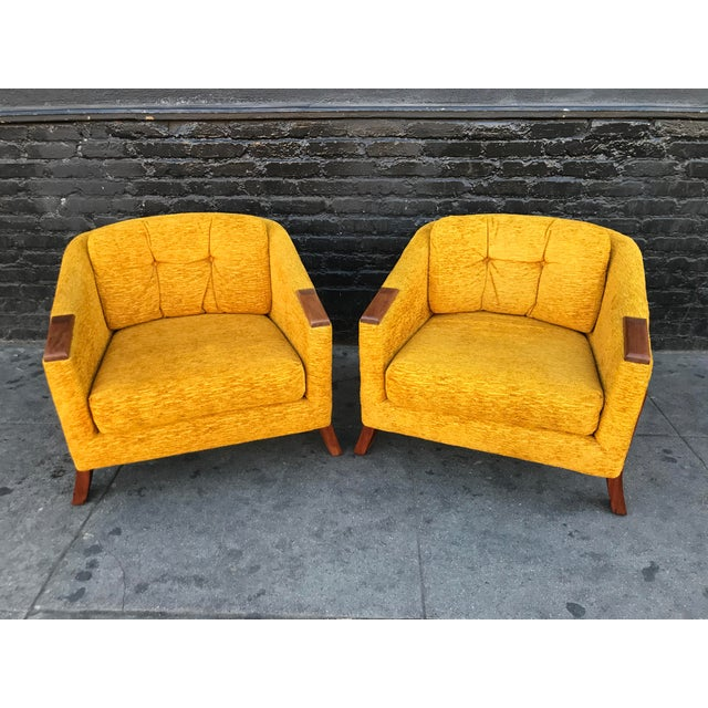 Mid Century Lounge Chairs by Chelmode Furniture - A Pair For Sale - Image 13 of 13