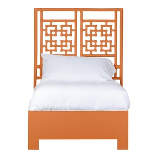 Palm Springs Bed Twin - Orange For Sale