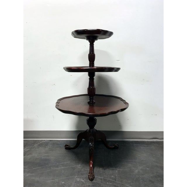 Vintage Mersman 3-Tier Mahogany Table - Image 2 of 10