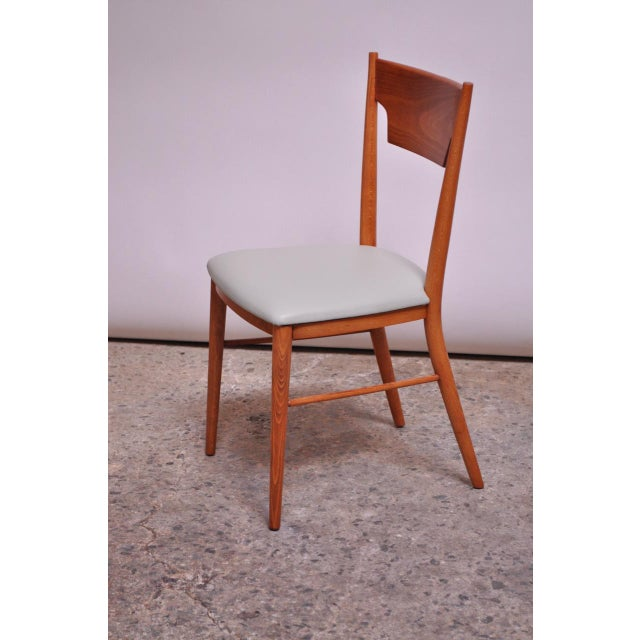 Stained Maple Dining Chairs by Paul McCobb for Perimeter - Set of 8 For Sale In New York - Image 6 of 13