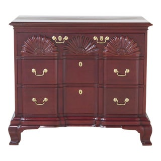 Kindel Winterthur Mahogany Block Front Newport Chest