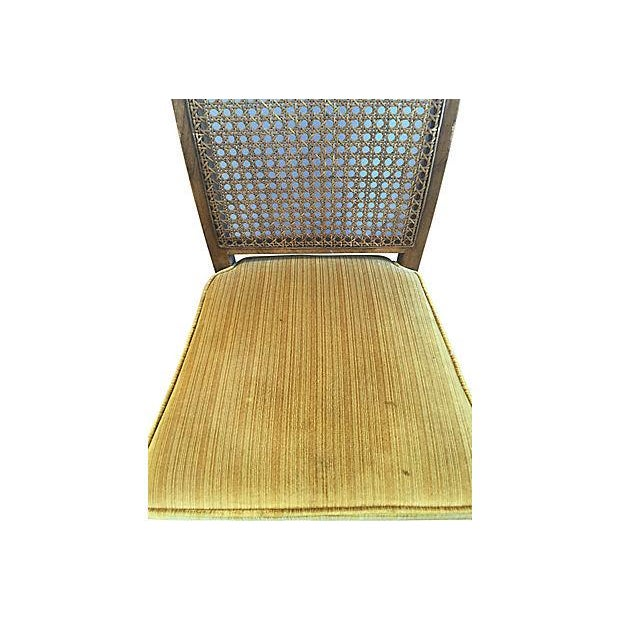 Heritage Faux Bamboo Dining Chairs - Set of 6 - Image 4 of 8