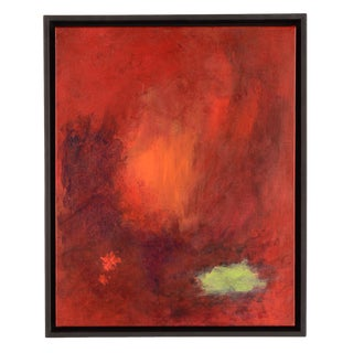 Firelight Abstract Painting For Sale
