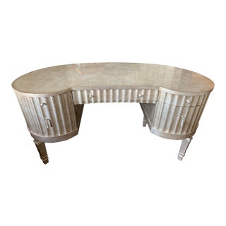 Hooker Fluted Kidney Desk For Sale