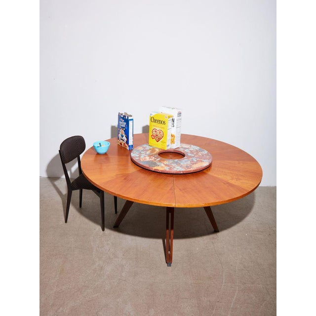 Vintage 1960s Ico Parisi Dining Table and Chairs Set For Sale In New York - Image 6 of 8