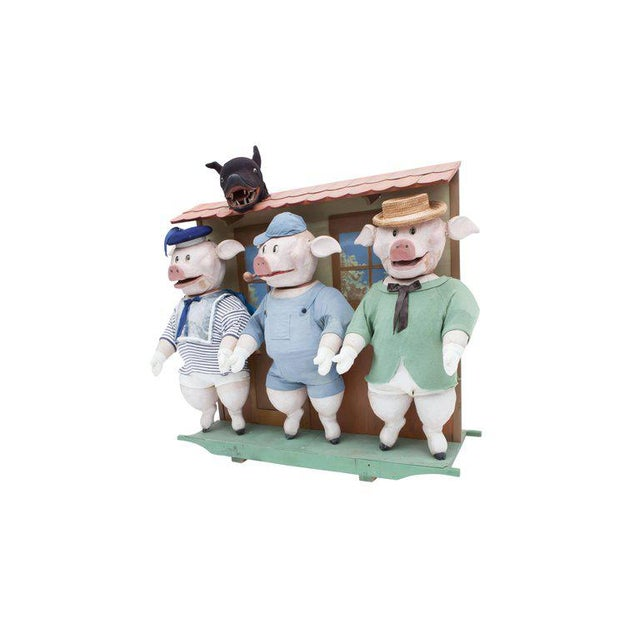 Three Little Pigs Puppetry For Sale - Image 4 of 9