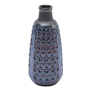 Midcentury Danish Stoneware Vase by Einar Johansen for Soholm For Sale