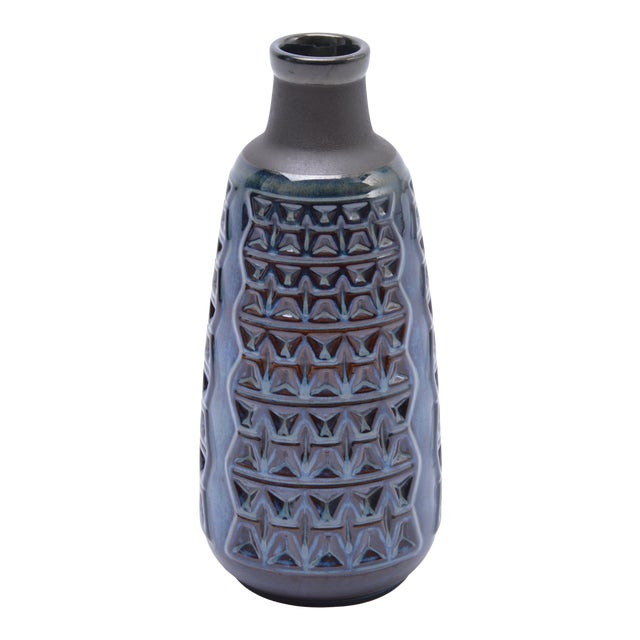 Midcentury Danish Stoneware Vase by Einar Johansen for Soholm For Sale
