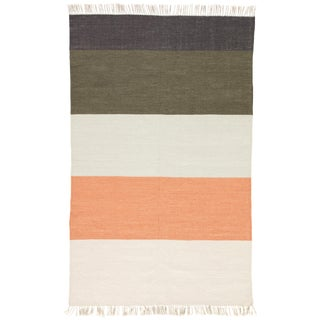 Jaipur Living Swane Indoor/ Outdoor Stripe Area Rug - 8′ × 10′ For Sale