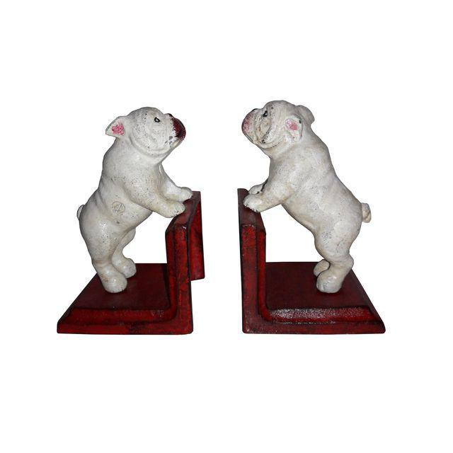 Cast Iron Bull Dog Bookends - A Pair - Image 2 of 5