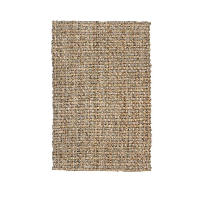 Costa Rica Natural/Gray Rug - 5' x 8' For Sale