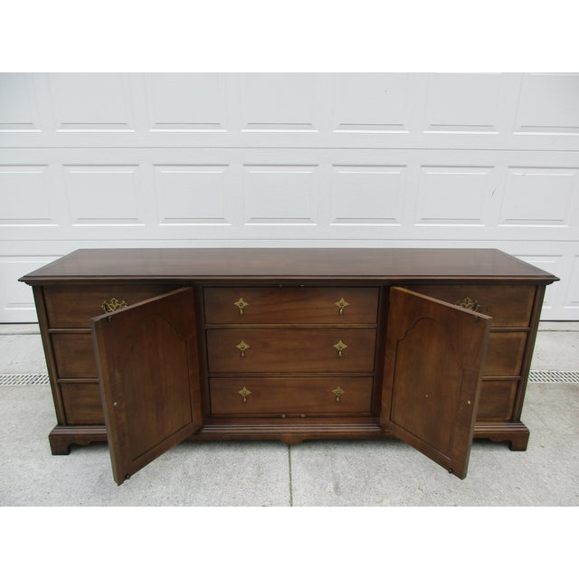Metal Century Furniture Chippendale Style Dresser For Sale - Image 7 of 11