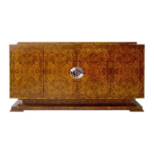 Art Deco Odeum Credenza Cabinet For Sale
