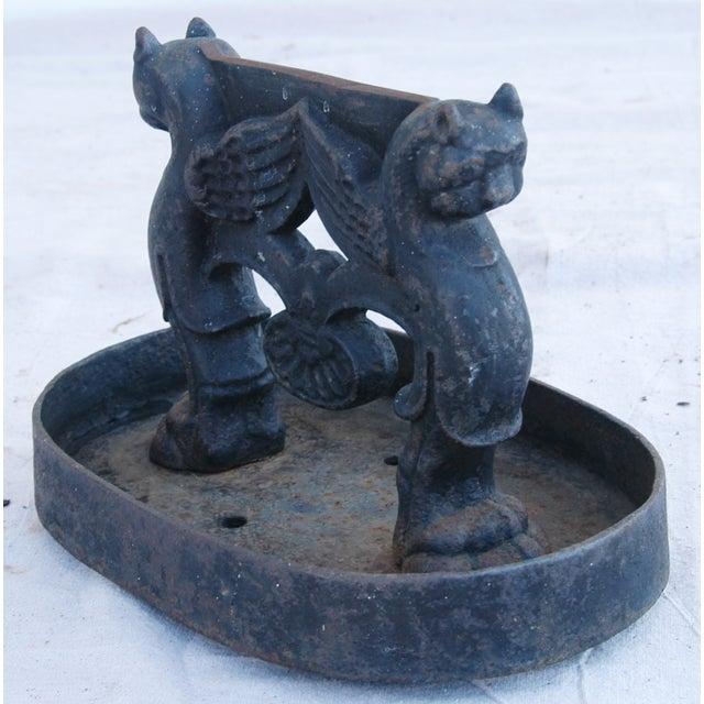 Antique English Cast Iron Boot Scraper - Image 6 of 10