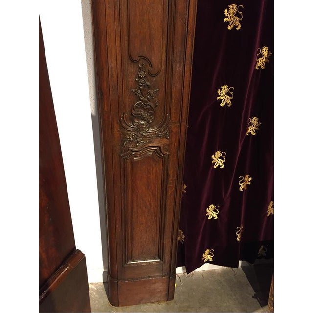 Antique French Boiserie Door Surround from the 1700s For Sale - Image 10 of 11