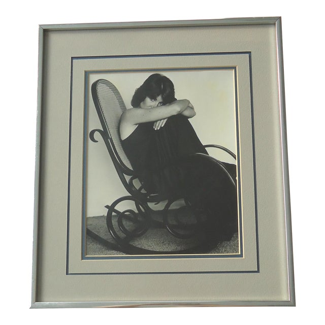 """""""Woman in Bentwood Rocker"""" Vintage Photograph - Image 1 of 3"""