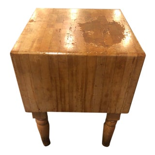 Maple Butcher Block For Sale