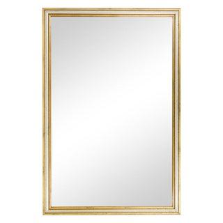 Gilded & Silvered Rectangular Mirror